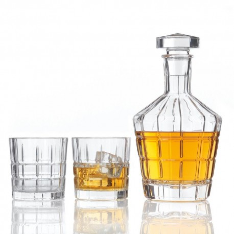 """set carafe avec 2 verres à whisky """"spiritii"""""""